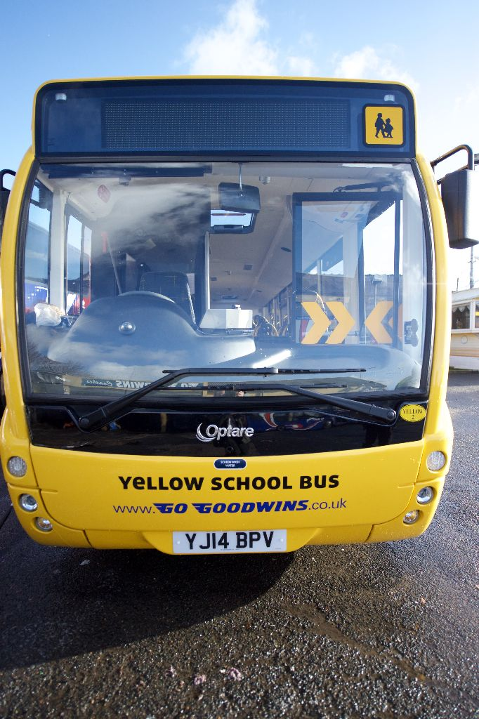 Yellow School Bus Hire Widnes